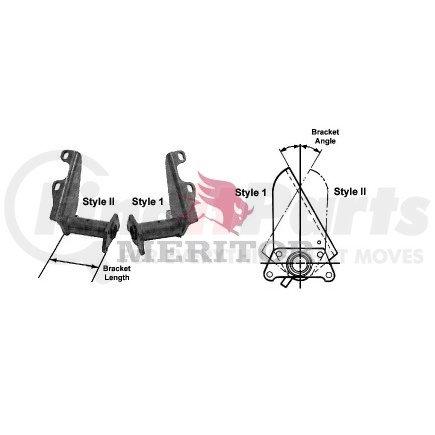 Meritor B313299T1554 Camshaft Bracket