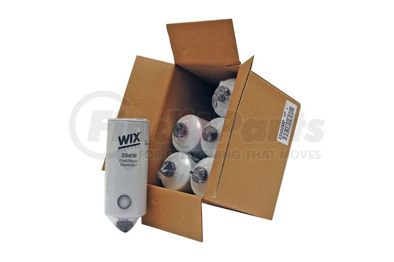 WIX Filters Pack of 1 33406 Heavy Duty Spin On Fuel Water Separator