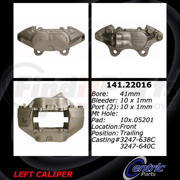 Centric 141.65096 Semi Loaded Caliper