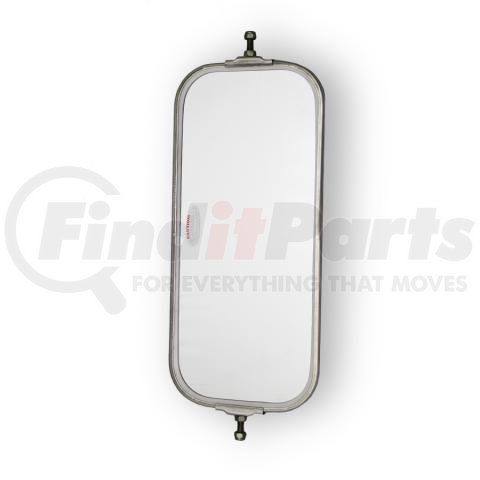 """7/""""X 16/"""" BY POWER PRODUCTS STAINLESS STEEL MR330 V-BACK MIRROR STAINLESS STEEL"""