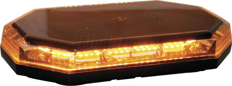 Permanent Mount Amber Mini Lightbar 10 Flash Patterns Replaces Buyers 8891060