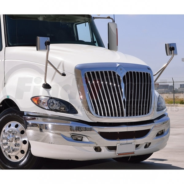 UNITED PACIFIC International ProStar Chrome Hood Mirror Mirror Only 42226