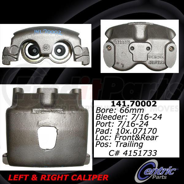 E-4237A Euclid Brake Caliper