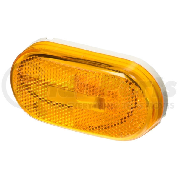 Built-in Reflector Grote 46713-5 Single-Bulb Oval Clearance Marker Light