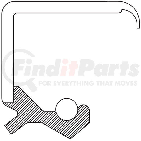 National 471833 Oil Seal