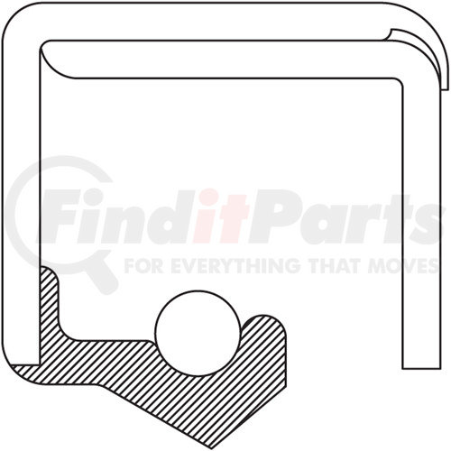 National 450308 Oil Seal